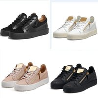 HOT Italy Luxury Casual Shoes Zipper Mens and Women Low Top ...