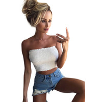 Quality Good Women Strapless Boob Bandeau Tube Tops Tank Bra...