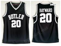 جودة جوردون هايوارد بتلر البلدغ الفانيلة اللون الأسود اللون كرة السلة كلية جوردون هايوارد جيرسي الرياضة موحدة شحن مجاني