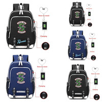 Riverdale South Side Serpents Jughead Backpack USB Charging ...