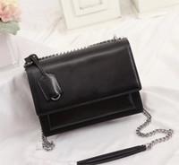 Hochwertige Flap Bag Luxus Designer Handtaschen SUNSET Original Leder Damen Umhängetaschen Mode Medium Umhängetasche