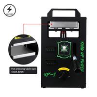 أسعار الجملة الصنوبري الحرارة الصحافة 4Ton دليل الهيدروليكية الصنوبري آلة الصحافة الحرارة مع ضعف لوحة
