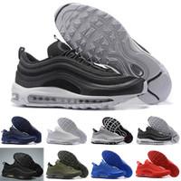 8e52e720bae Nike Air max 97 Diseñador 97 Zapatos para correr Mostaza Amarilla South  Beach SE OG Oro