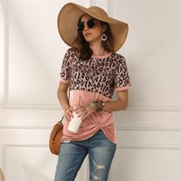Designer Casual Womens T Shirt Luxury Panelled Short Sleeve ...