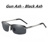 2019 nouvelle tendance designer lunettes de soleil polarisées lunettes de soleil lumineux lunettes de soleil grenouille miroir hommes et femmes en aluminium lunettes de magnésium équitation miroir uv400