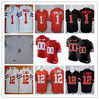 3dabeefa9 New Arrival. Cheap Ohio State Buckeyes College Football 1 Johnnie Dixon  Jeffrey Okudah 12 Denzel Ward Brendan Skalitzky White Black Red Stitched  Jerseys