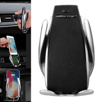 Original S5 Automatic Clamping Wireless Car Charger For ipho...