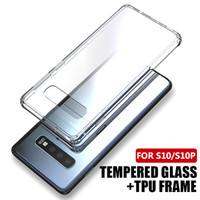 High Transparent 9H Hardness Tempered Glass Phone Case For i...