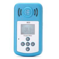 Freeshipping Belas oxigênio (O2) Concentração Detector Mini Oxygen Medidor de O2 tester Gas Analyzer com display LCD e Alarme Sound-luz