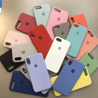 Famous brand Original Official Silicone Case For Apple iPhon...