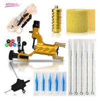 Hot Sale Tattoo Machine Set Gold not Completed Tattoo Kit Pr...