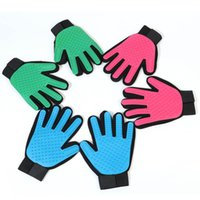 Silicone Pet Brush Dog Glove Pet Grooming Hair Cleaning Massage Glove Pet Dog Supplies Cat Dog Hair Cleaning Brush Comb