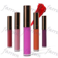 20 colori no logo lip gloss non-cup-stick new arrivano oro rosa tappo disegno del rossetto liquido per EU US maket