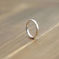 S925 الفضة الاسترليني الدائري شخصية كلاسيكي الأزياء نمط بسيط سلس زوجين حلقات مجوهرات بسيطة لإرسال عاشق هدية
