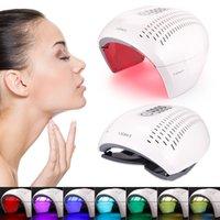NEW Фотон PDT светодиодные маска для лица машина Профессия Лечение акне лица Отбеливание Омоложение кожи Светотерапия красоты