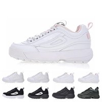 cdef9956d Disruptors 2 raf simons ozweego Sawtooth white black Pink II Women mens  Designer platform sneakers Casual Shoes Trainers Chaussures 36-45