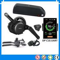 UE EU Nenhum taxe bafang BBSHD mid drive 48 V 1000 W kits de motor de bicicleta elétrica com hailong 48 V 14.5Ah Li-ion down ebike bateria tubo