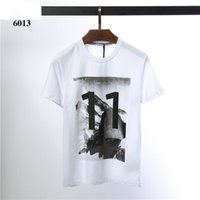 2019SS Summer 100% cotton print casual mens o- neck t shirts ...