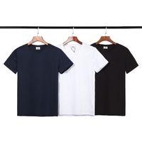 남성 디자이너 t 셔츠 새로운 브랜드 패션 스포츠 통기성 프랑스 고급 남성의 셔츠 크루 넥 높은 품질 디자이너 악어