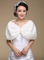Automne et hiver chaud robe de mariée de mariée longue Laine Châle spécial