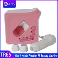 RF Therapy portatile frazionale RF macchina di serraggio anti invecchiamento della pelle rimozione delle rughe portatile ringiovanimento della pelle RF bellezza Attrezzature Spa