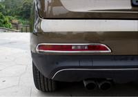 Per Audi Q3 2013 2014 2015 Accessori Copertura posteriore fendinebbia ABS posteriore