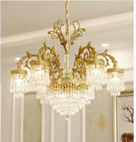 Modern Decora Copper D75cm H73cm Crystal Chandelier Hanging ...