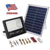 2019 Ny version utomhus 25W 40W 100W 120W 125W Sollampor LED-indikator Flood Lights Solar Floodlight med laddningsdisplay