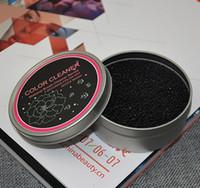 Maquillaje cepillo limpieza lavado artefacto esponja seca cambio de color limpiador Estera de lavado Mano Cojín Sucker Scrubber Board Cosméticos limpia herramienta caja de hierro