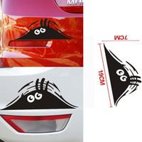 ARABA Garip Araba Korsanlar Kaplı Çizikler Çıkartmalar Karikatür Vücut Kişilik Komik Çıkartmaları Yapıştırın