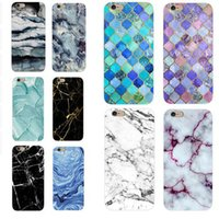 Imd Marble Stone Gel Case for Apple IPhone 7 6s 8 Plus Cases...