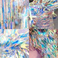 Altın Renk Işık Renkli Kapı Perde Düğün Töreni Çiseleme Perdeleri Doğum Günü Partisi Arka Plan Duvar Dekoratif Makaleler 45rm4 L1