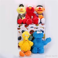 Sesame Street & KAWS 5 Models Plush Toys ELMO BIG BIRD ERNIE...