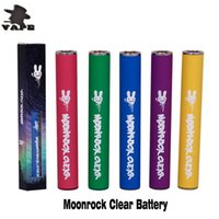 Moonrock Clear Battery 350mAh Precalentamiento Voltaje variable Bud Touch Cargador USB Vape Pen Kit para 510 hilos Moon Rock Clear Carts Cartridge