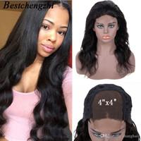 Body Wave Lace Front Perücke Brasilianische Malaysische indische Menschenhaarperücken Für Schwarze Frauen Remy Vorplucked Lace Frontal Perücke mit Haarspitze Perücken
