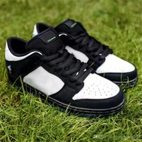 official photos 53202 82e62 2019 Authentic SB Dunk Panda Panda a bassa cucitura NON PER RESELL Nero  Green Gusto Calzaturista