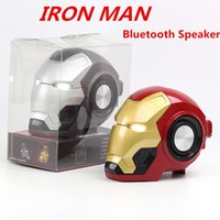 Mobile phone Speakers Bluetooth Wireless Iron Man Cartoon Sp...