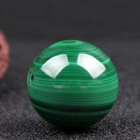 Natural Gemstone Malachite Stone Beads Round Loose Beads for...