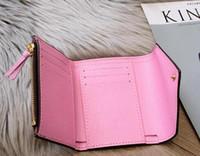 bolso clássico zipper Top homem mulheres qualidade caixa original de couro real multicolor curto carteira titular do cartão