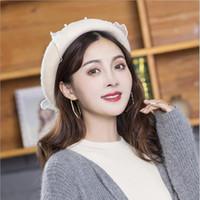 00f687166c6 New Arrival. New Arrival Auttum Winter Hats Vintage Warm Wool Winter Women  Beret French Artist Beanie ...