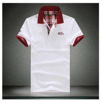 Men Tees Big Size S -5xl xxxxl Xxxl XL XXL bordado Cotton Polo New Men 'S Moda shirt dos homens roupa manga curta Camisa Polo