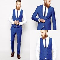 Custom Made 4 Pieces Men Wedding Suits Slim Fit Suit Tailor ...