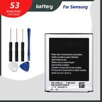 الأصل البطارية EB-L1G6LLU لسامسونج غالاكسي S3 I9300 I9305 I9082 I535 I747 Bateria استبدال Batteria Batarya