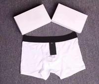 2020 Boksörler Pamuk Nefes moda Boxer Lüks Külot Sıkı Bel Külot Erkek Boksörler Tasarımcı Erkek Underwears