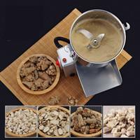 2020 caliente New Food molino de polvo ultrafino de la máquina doméstica pequeña molienda en seco del grano medicina herbaria china Grinder 220V