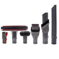 Wholesale kits de pinceaux de remplacement (6pcs / set) pour les pièces d'aspirateur (matelas, brosse à poils rigide, crevasse, buse, brosse, adaptateur)