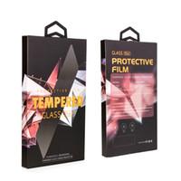 pacote de varejo alta classe universal para iPhone XR XS protetor de tela caixa de embalagem de vidro temperado para