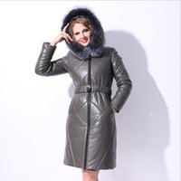 Winter Plus size Real Goose down coat fashion brand natural ...
