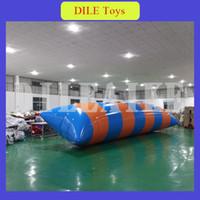 شحن مجاني إلى الباب 7 متر * 2 متر 0.9 ملليمتر pvc نفخ فقاعة الماء ، نفخ المياه القفز الكرة للبيع