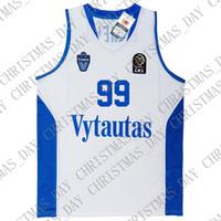 d386f505a99 ... Prienu Vytautas Basketball Shirt 1 LaMelo Ball Jersey 3 LiAngelo Ball  Uniform 99 LaVar Ball All Stitched Good Team Blue White. US  13.60   Piece.  New ...